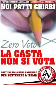 sn zero voto