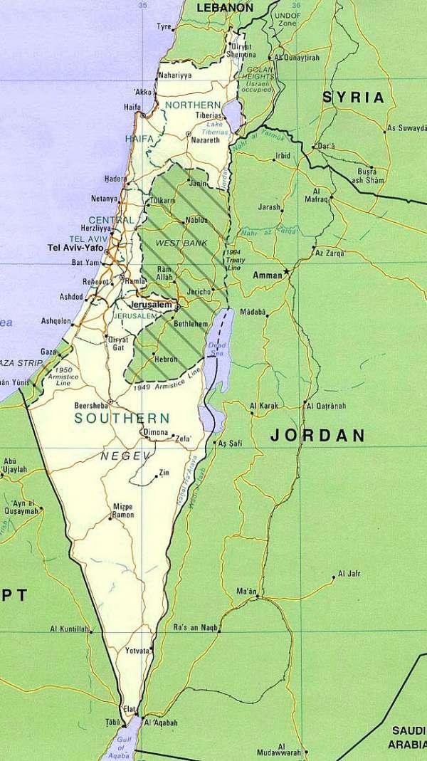 Cartina Fisica Dell Israele.Israele Tra 25 Anni Fantapolitica O Previsione Certa Unione Per Il Socialismo Nazionale