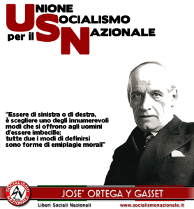 josè ORTEGA Y GASSET
