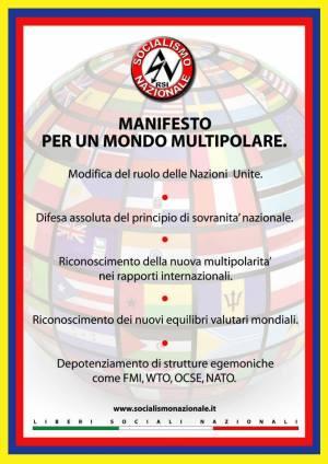 Manifesto per un Mondo Multipolare1