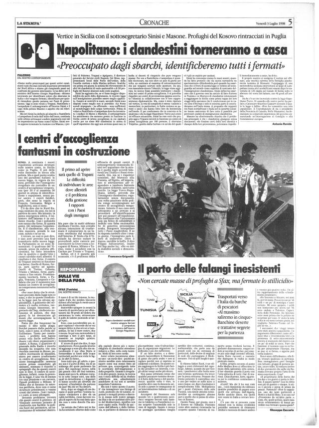 Napolitano 1998