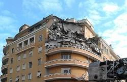 roma crollo